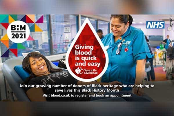 BAME Blood donors