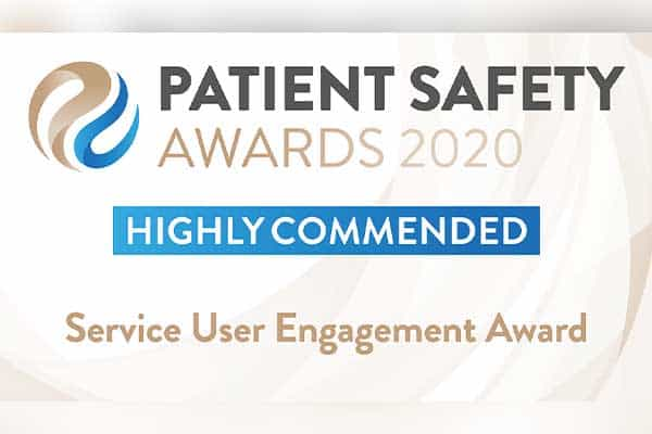 Service User Engagement Award